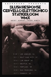 Statiqbloom and Blush Response Tour Poster
